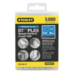 Stanley Tools TRA706-5C Heavy Duty Staples 3/8 5000bx Cc