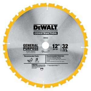 DeWalt DW3123 12 In 32t General Purpose Saw Blade