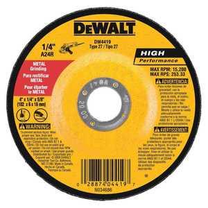 DeWalt DW4419 Performance Metal Grinding Wheel