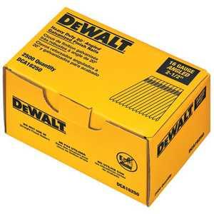 DeWalt DCA16250 20-Degree Angled Finish Nail