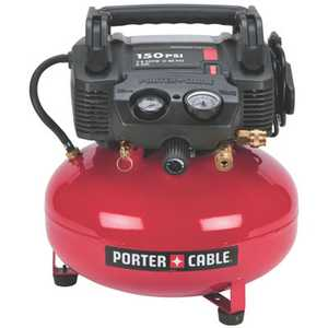 Porter-Cable C2002-WK 150psi 6 Gal Oil-Free Pancake Compressor