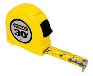 Stanley Tools 30-464 Tape Rule 1x30
