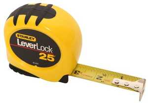 Stanley Tools 30-825 Leverlock Tape Measure 1x25 Ft