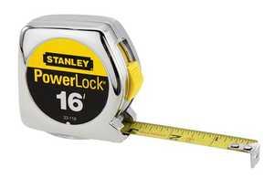 Stanley Tools 33-116 Powerlock Tape Measure 3/4x16 Ft
