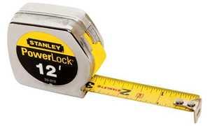 Stanley Tools 33-312 Powerlock Tape Measure 3/4x12