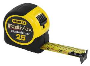 Stanley Tools 33-725 Fatmax Tape Measure 25 Ft With Blade Armor