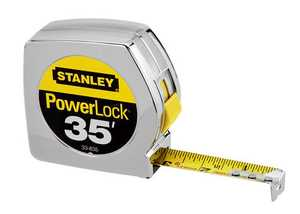 Stanley Tools 33-835 Powerlock Tape Measure 1x35 Ft