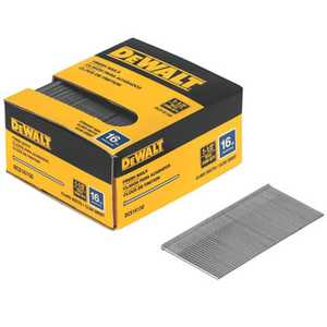DeWalt DCS16150 16ga 1-1/2 In Straight Finish Nail 2500 Pack