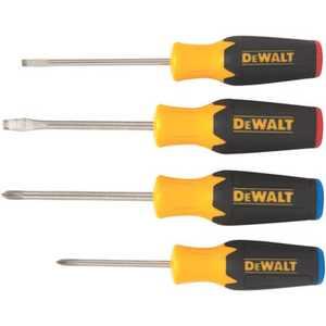 DeWalt DWHT62512 4 Pc Screwdriver Set