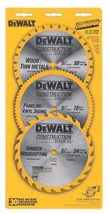 DeWalt DW9059C5 Blade Saw 53/8 In 3pk