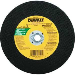 DeWalt DW3511 7 In X 1/8 In X 5/8 In -Diamond Drive Metal Cutting Blade