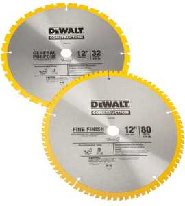 DeWalt DW3128P5 Construction 12 In Combo Pack (dw3128 And Dw3123)