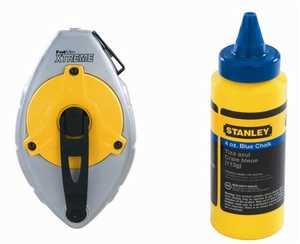 Stanley Tools 47-482L Fatmax Chalk Line Reel Set