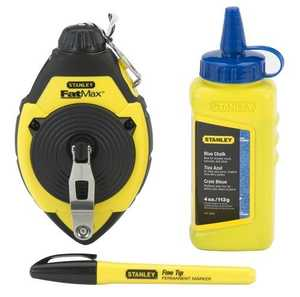 Stanley Tools 47-681L Chalk Line/Level Set Fatmax
