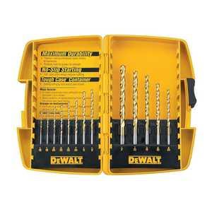 DeWalt DW1363 13 Piece Titannium Drill Bit Set