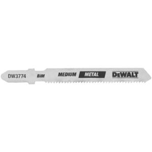 DeWalt DW3774-5 3 In 18 Tpi T-Shank Metal Cutting Cobalt Steel Jig Saw Blade