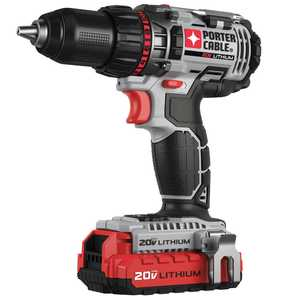 Porter-Cable PCCK600LB 20v Max 1/2 In Lithium Ion Drill/Driver Kit