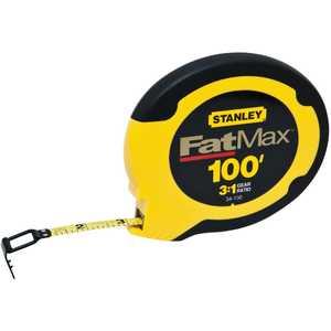 DeWalt 34-130 100 Ft FatMax Steel Long Tape