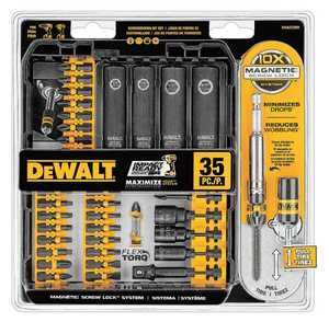 DeWalt DWA2T35IR 35-Piece Impact Ready Screwdriving Set