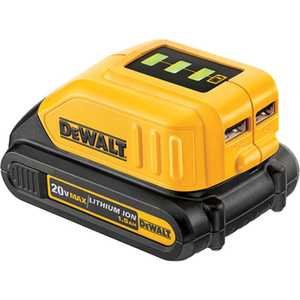 DeWalt DCB090 12v/20v Max* USB Power Source