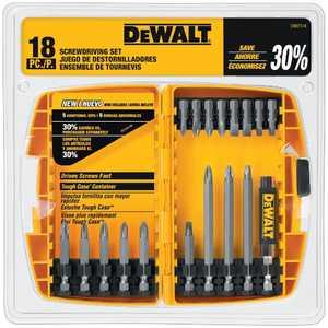 DeWalt DW2174 18 Piece Screwdriver Set With Tough Case