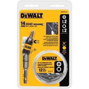 DeWalt DWPVTC14 14 Piece Pivot Holder Screwdriver Set