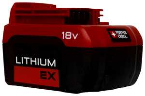 Porter-Cable PC18BLEX 18v Ex Lithium Ion Battery Pack