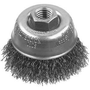 DeWalt DW49151 4 In X 5/8 In -11 Xp .014 Carbon Crimp Wire Cup Brush