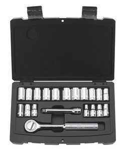 Stanley Tools 92-802 Socket Set 20pc 1/4drive Sae