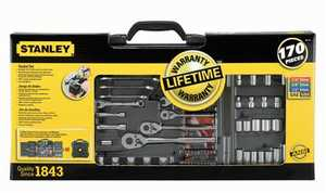 Stanley Tools 96-011 Mechanics Tool Set 170pc