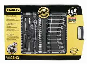 Stanley Tools 97-543 150 Pc. Mechanic Tool Set