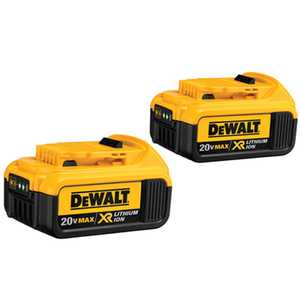 DeWalt DCB204-2 20v Max Premium Xr Lithium Ion 2-Pack