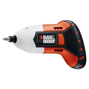 Black & Decker BDCS40G Max Gyro Rechargeable Screwdriver