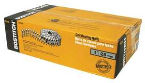 Stanley-Bostitch CR2DGAL Coil Roofing Nails 1 In X.120 Gal Vanized 7200pcs