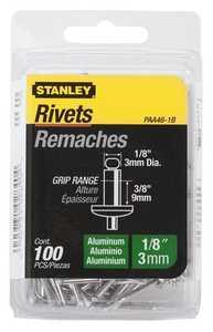 Stanley Tools PAA46-1B Aluminum Rivet 1/8x3/8 100box