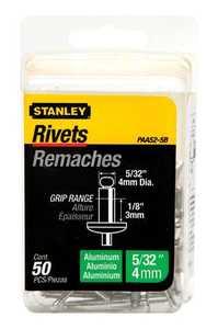Stanley Tools PAA52-5B Aluminum Rivet 5/32x1/8 50box