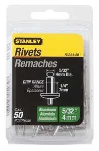 Stanley Tools PAA54-5B Aluminum Rivet 5/32x1/4 50box
