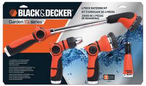 Black & Decker BD1990 Garden Hose-End Nozzle Set 4-Piece