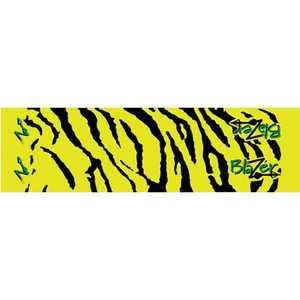 Bohning Archery 501004YT 4 In Yellow Tiger Blazerwrap 12pk Alum