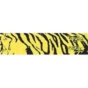 Bohning Archery 501001YT The Bohning Co Ltd 18175 Blazer Carbon Wrap Yellow Tiger 12 Pack