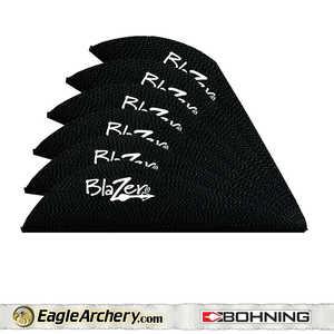 Bohning Archery 10833BK2 2 In Black Blazer Vane 1pk