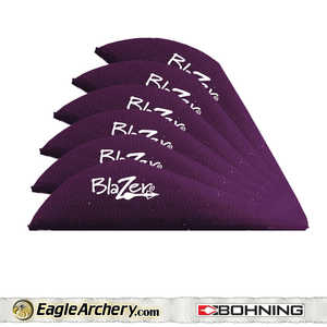 Bohning Archery 10833PU2 2 In Purple Blazer Vane 1pk