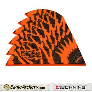 Bohning Archery 10833OT2 2 In Orng Tiger Blazer Vane 1pk