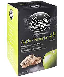 Bradley Smoker BTAP48 Apple Bisquettes