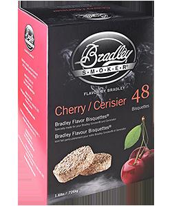 Bradley Smoker BTCH48 Cherry Flavor Bisquettes