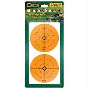 Caldwell 271050 Battenfeld 271050 Caldwell Shooting Spots-Orange 3 in