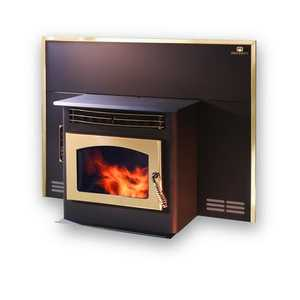 United States Stove Co SP22IDC Insert Pellet Stove With Gold Trim