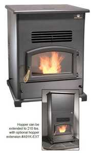 United States Stove Co SP1000PCA Home Heater Pellet Stove