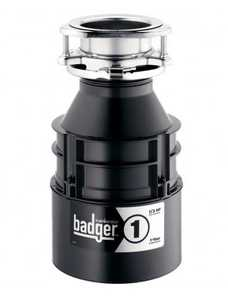 Insinkerator BADGER1 Badger1 Food Disposer 1/3hp