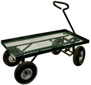 Buffalo Tools HDTFLATB Garden Cart 36 in X 18 in Flat